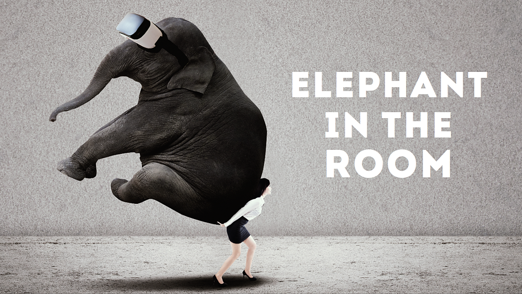 the elephant in the room - the thing no one wants to talk about