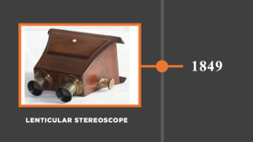 The Lenticular Stereoscope - 1849