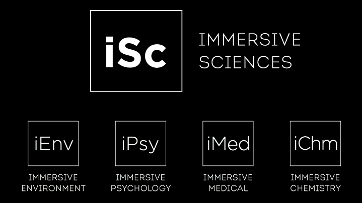 immersive sciences - immersive evironment, psychology, medicine and chemistry